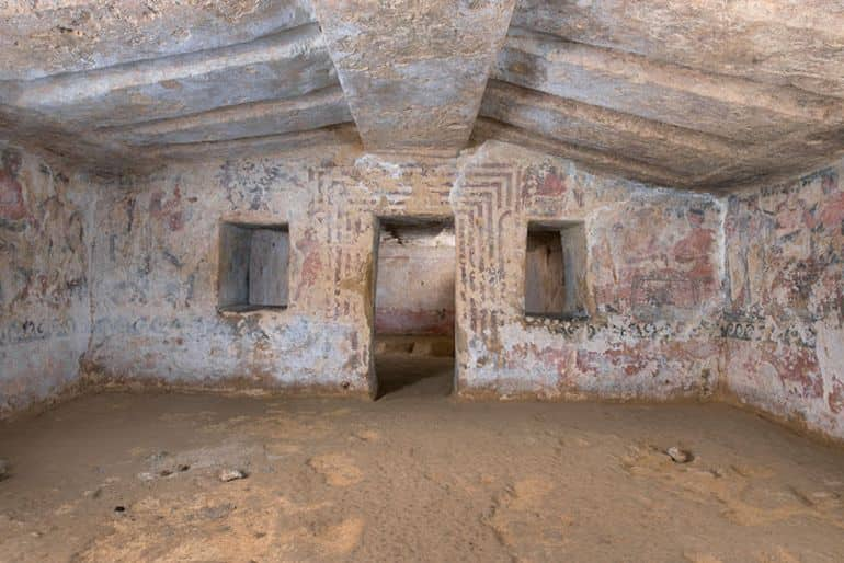 Restoration Complete For The Magnificent Etruscan 'Tomb of