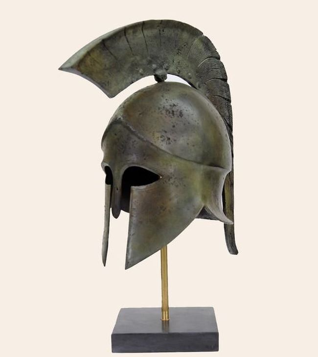 Greek Helmets